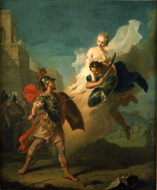 Menelaus and Paris